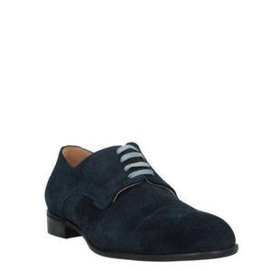 Bruno Magli Men's Navy Blue Lace-up Shoes 45 / 12